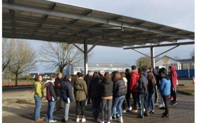 Ombrière Solaire Photovoltaïque Séné (56)