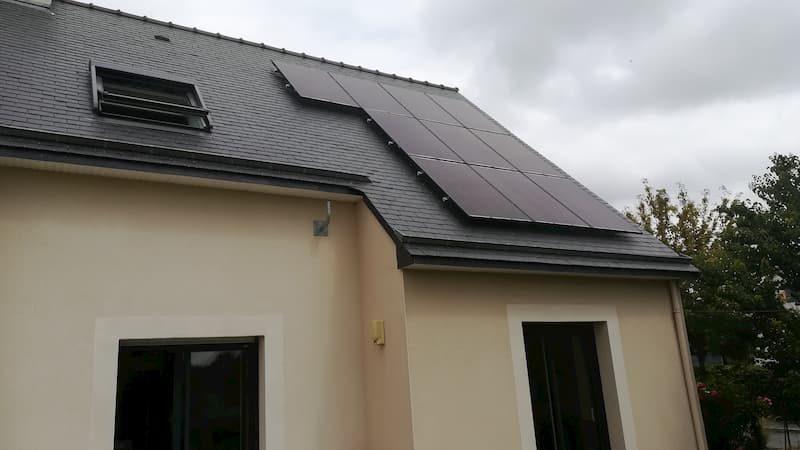 Panneaux photovoltaïques en surimposition