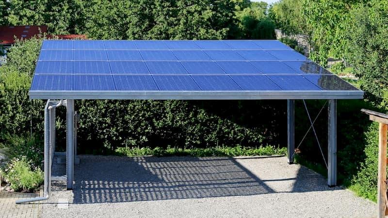 Abris solaire - Panneaux photovoltaiques Bretagne