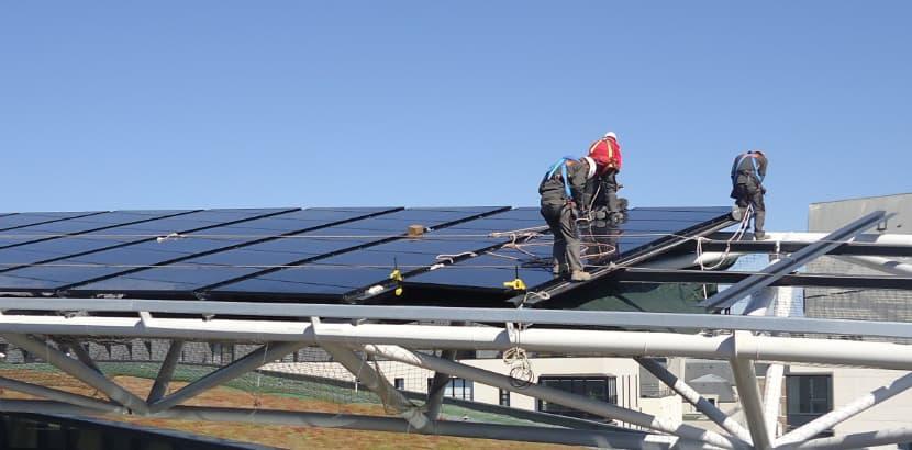 Pose de panneaux solaires en Bretagne