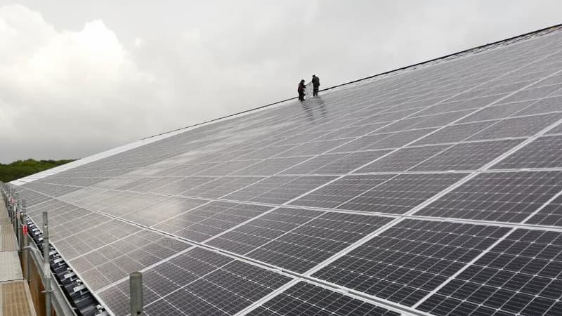 Centrale solaire - Rénovation