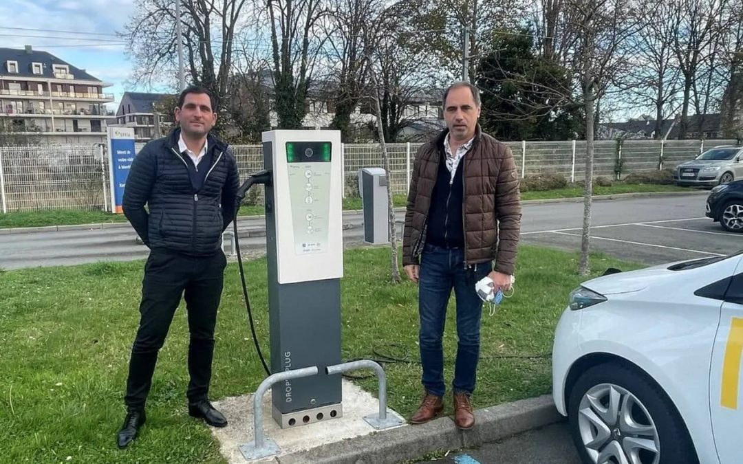 Emeraude Solaire entre au capital de la Start-Up Drop'n Plug
